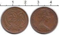 Изображение Монеты Австралия 2 цента 1974 Бронза XF