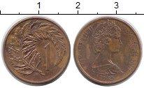 Изображение Монеты Австралия и Океания Новая Зеландия 1 цент 1985 Бронза XF