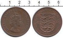 Изображение Монеты Великобритания Остров Джерси 1/12 шиллинга 1957 Бронза XF