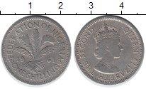 Изображение Монеты Нигерия 1 шиллинг 1961 Медно-никель VF