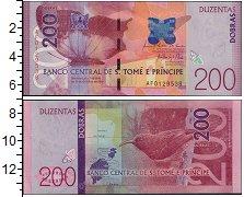 Изображение Банкноты Сан-Томе и Принсипи 200 добрас 2016  UNC