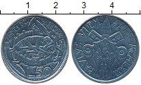 Изображение Монеты Европа Ватикан 50 лир 1975 Медно-никель UNC