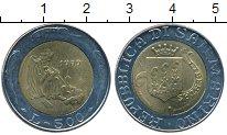 Изображение Монеты Европа Сан-Марино 500 лир 1989 Биметалл UNC