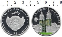 Изображение Монеты Палау 5 долларов 2015 Серебро Proof