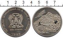 Изображение Монеты Африка Сан-Томе и Принсипи 1000 добрас 1998 Медно-никель UNC-