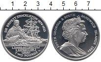 Изображение Монеты Южная Америка Сендвичевы острова 2 фунта 2004 Серебро Proof