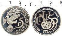 Изображение Монеты Европа Франция 5 франков 1995 Серебро Proof