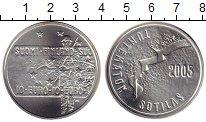 Изображение Монеты Европа Финляндия 10 евро 2005 Серебро UNC