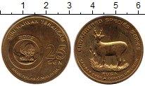 Изображение Монеты Малайзия 25 сен 2003 Латунь UNC-