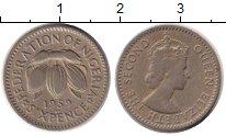 Изображение Монеты Африка Нигерия 6 пенсов 1959 Медно-никель XF