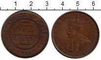 Изображение Монеты Австралия 1 пенни 1926 Медь XF