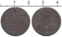 Изображение Монеты Европа Дания 4 скиллинга 1807 Серебро VF