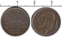 Изображение Монеты Европа Бельгия 20 сантим 1950 Бронза XF