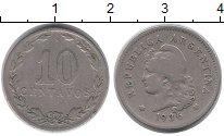 Изображение Монеты Аргентина 10 сентаво 1936 Медно-никель VF
