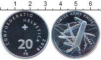 Изображение Мелочь Швейцария 20 франков 2018 Серебро Proof