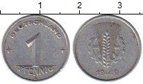 Изображение Монеты ГДР 1 пфенниг 1949 Алюминий XF А