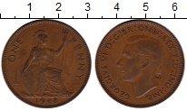 Изображение Монеты Европа Великобритания 1 пенни 1948 Бронза XF