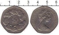 Изображение Монеты Европа Великобритания 50 пенсов 1973 Медно-никель XF