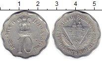 Изображение Монеты Индия 10 пайс 1974 Алюминий XF ФАО