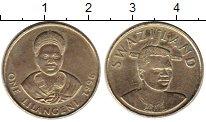 Изображение Монеты Африка Свазиленд 1 лилангени 1996 Латунь UNC