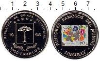 Изображение Монеты Африка Экваториальная Гвинея 1000 франков 1995 Медно-никель UNC-