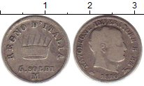 Изображение Монеты Италия 5 сольди 1810 Серебро VF+