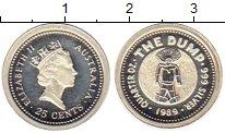 Изображение Монеты Австралия и Океания Австралия 25 центов 1989 Серебро Proof