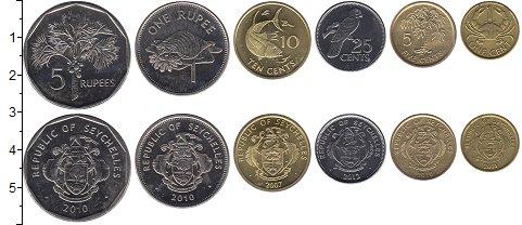 Изображение Наборы монет Африка Сейшелы Сейшелы 2004-2012 0  UNC