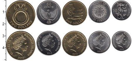 Изображение Наборы монет Австралия и Океания Соломоновы острова Соломоновы острова 2012 2012  UNC