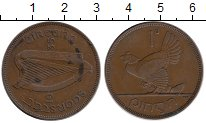 Изображение Монеты Ирландия 1 пенни 1935 Бронза XF