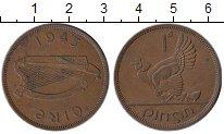 Изображение Монеты Ирландия 1 пенни 1943 Бронза XF