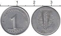 Изображение Монеты Германия ГДР 1 пфенниг 1950 Алюминий XF