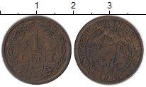 Изображение Монеты Европа Нидерланды 1 цент 1916 Бронза XF