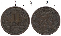 Изображение Монеты Европа Нидерланды 1 цент 1928 Бронза XF