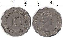 Изображение Монеты Маврикий 10 центов 1970 Медно-никель XF