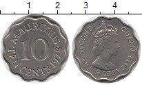 Изображение Монеты Маврикий 10 центов 1978 Медно-никель XF