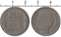Изображение Монеты Алжир 20 франков 1949 Медно-никель XF-