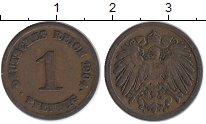 Изображение Монеты Германия 1 пфенниг 1904 Медь XF-