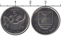 Изображение Монеты Австралия и Океания Кирибати 5 центов 1979 Медно-никель UNC-