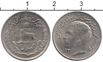 Изображение Монеты Иран 1 риал 1972 Медно-никель UNC-