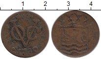 Изображение Монеты Нидерланды 1 дьюит 1730 Медь VF