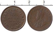 Изображение Монеты Азия Индия 1/12 анны 1927 Бронза XF