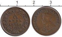 Изображение Монеты Азия Индия 1/12 анны 1926 Бронза XF