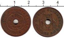 Изображение Монеты Великобритания Родезия 1/2 пенни 1964 Бронза XF