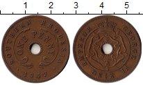 Изображение Монеты Родезия 1 пенни 1947 Бронза XF