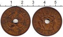 Изображение Монеты Великобритания Родезия 1 пенни 1962 Бронза XF-