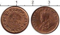 Изображение Монеты Азия Индия 1/12 анны 1927 Бронза UNC-