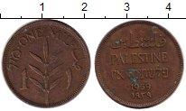 Изображение Монеты Палестина 1 мил 1939 Бронза XF-
