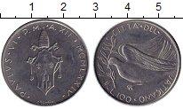 Изображение Монеты Европа Ватикан 100 лир 1974 Сталь UNC-