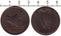 Изображение Монеты Европа Ирландия 1 пенни 1935 Бронза XF-